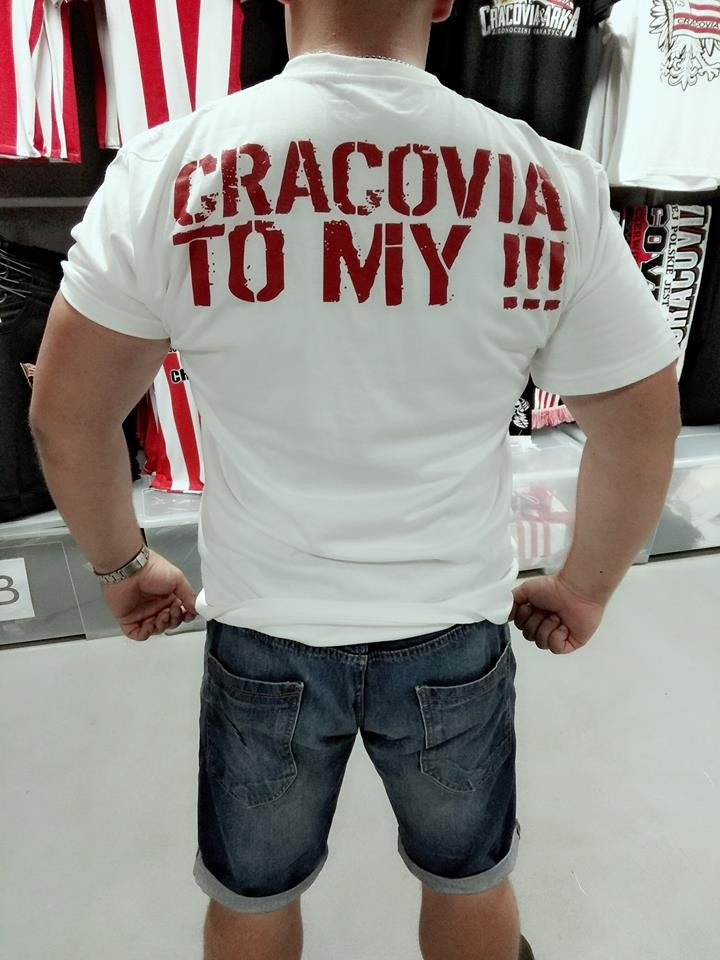 """Koszulka """"Cracovia To My"""""""